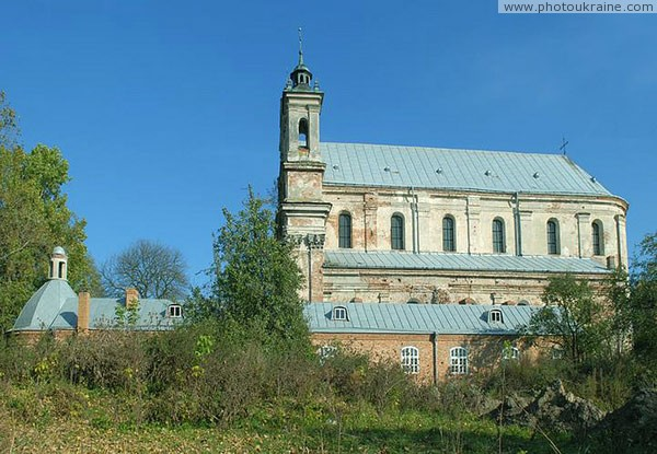 Olyka. Trinity church kollegiat Volyn Region Ukraine photos