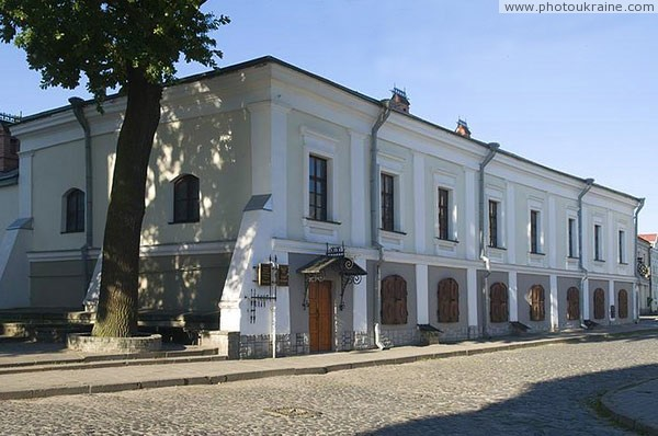 Lutsk. Old mansion with Lesyn room-museum Volyn Region Ukraine photos