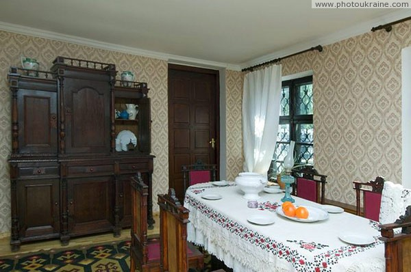 Lutsk. Interior of Lesyn room-museum Volyn Region Ukraine photos