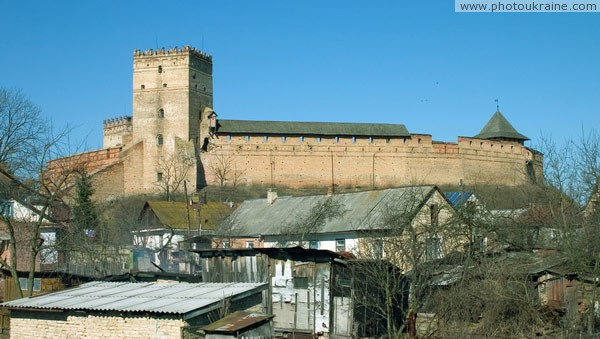Lutsk. Lutsk castle Volyn Region Ukraine photos