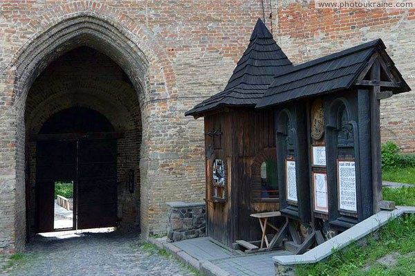 Lutsk. Information booth Lutsk castle Volyn Region Ukraine photos