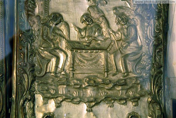 Lutsk. Lutsk castle, spectacular book decoration in Museum of books Volyn Region Ukraine photos