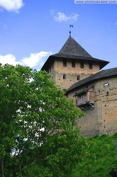 Lutsk. Lutsk castle, eastern Vladycha tower Volyn Region Ukraine photos