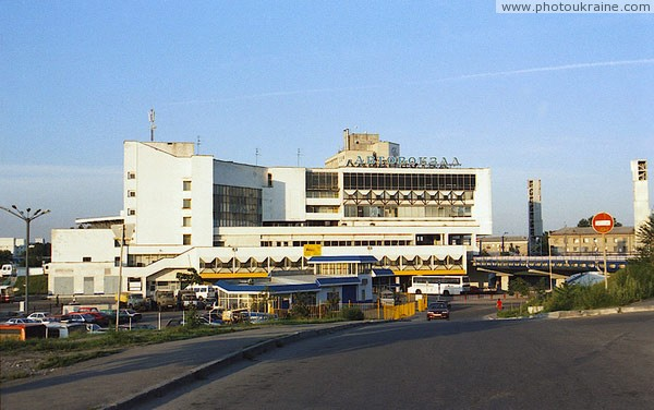 Dnipropetrovsk. Bus Station Dnipropetrovsk Region Ukraine photos