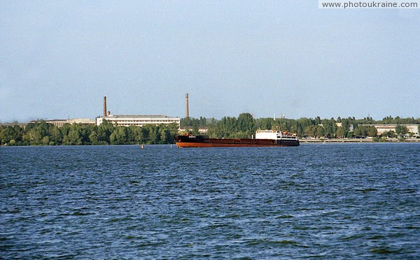 Dnipropetrovsk. Industrial left bank Dnipropetrovsk Region Ukraine photos