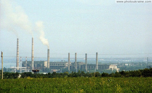 Dnipropetrovsk. Pipe plant in southern suburbs Dnipropetrovsk Region Ukraine photos