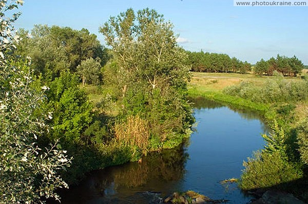 Kytayhorod. Bend of river Oril Dnipropetrovsk Region Ukraine photos