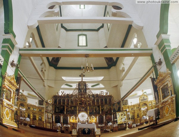 Novomoskovsk. Interior of Trinity Cathedral Dnipropetrovsk Region Ukraine photos