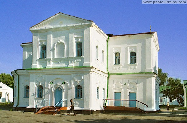 Novomoskovsk. Side facade of Nicholas Church Dnipropetrovsk Region Ukraine photos