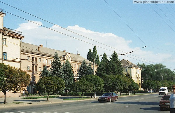 Kryvyi Rih. City street Dnipropetrovsk Region Ukraine photos