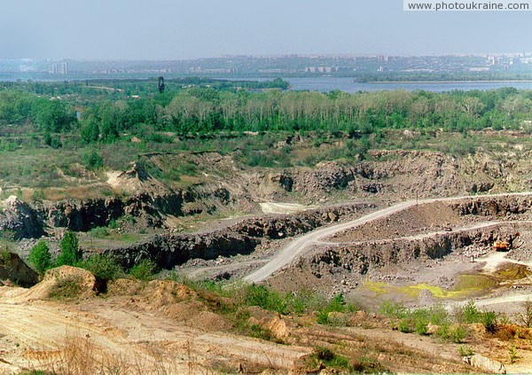 Dnipropetrovsk. Rybalskyi quarry Dnipropetrovsk Region Ukraine photos