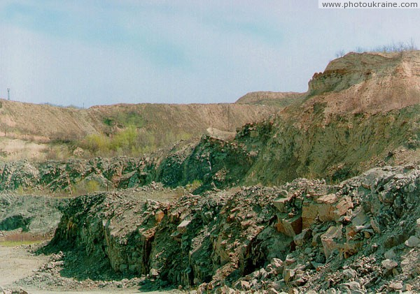 Dnipropetrovsk. Granite of Rybalsky quarry Dnipropetrovsk Region Ukraine photos