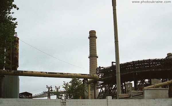 Amvrosiivka. Cement Plant Donetsk Region Ukraine photos