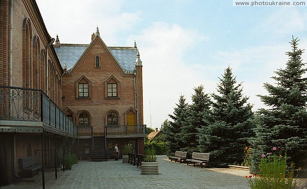 Artemivsk. Landscaped courtyard houses of prayer Donetsk Region Ukraine photos