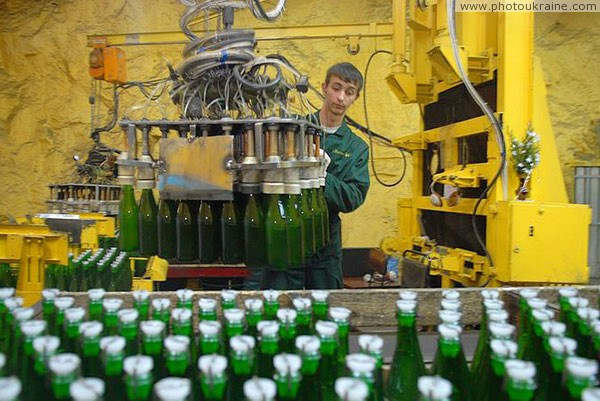 Artemivsk. In hands of as many bottles do not carry Donetsk Region Ukraine photos
