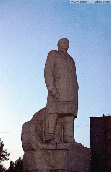 Gorlivka. Monument to V. Lenin Donetsk Region Ukraine photos