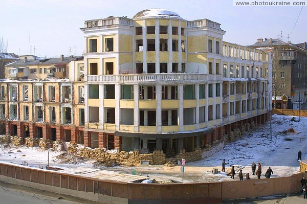 Donetsk. Building predecessor of Donbas Palace Donetsk Region Ukraine photos