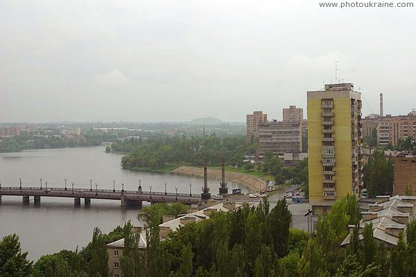 Donetsk. Makiivskyi bridge Donetsk Region Ukraine photos