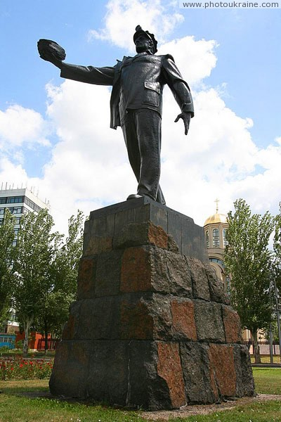 Donetsk. Mining memorial Donetsk Region Ukraine photos