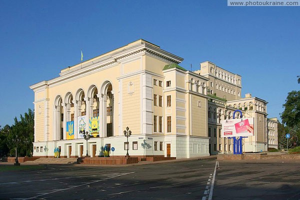Donetsk. Russian academic theater of Opera and Ballet theater of A. Solovianenko Donetsk Region Ukraine photos