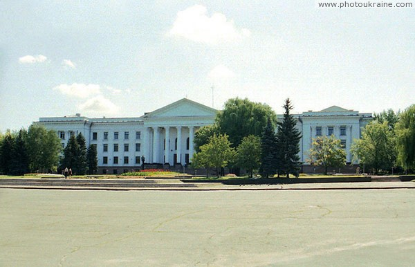 Kramatorsk. Central square of Vladimir Lenin Donetsk Region Ukraine photos