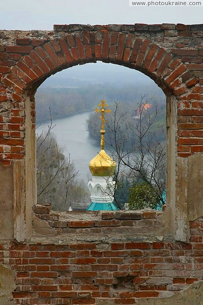 Sviatogirska lavra. Ruins, Cathedral, river and eternity ... Donetsk Region Ukraine photos