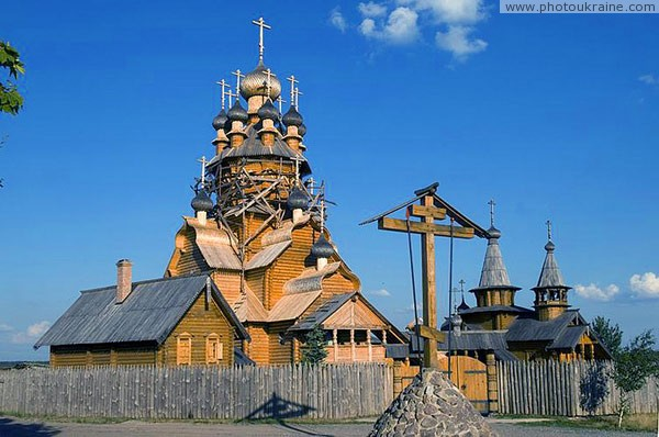 Sviatogirska lavra. Buildings skit of All Saints Donetsk Region Ukraine photos