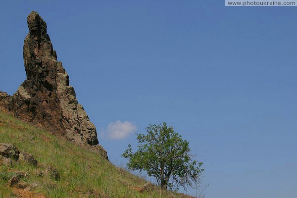 Starolaspa. Pinnacle of Kalmius Donetsk Region Ukraine photos
