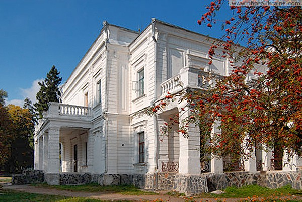 Andrushivka. Facades Tereschenko estate Zhytomyr Region Ukraine photos