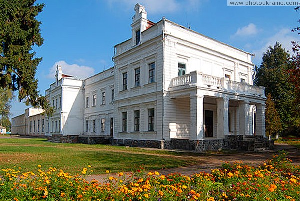 Andrushivka. Side elevation estates Tereshchenko Zhytomyr Region Ukraine photos