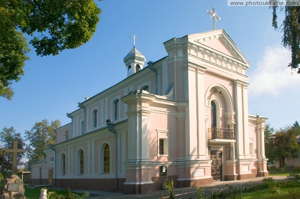 Berdychiv. Church of St. Barbara Zhytomyr Region Ukraine photos