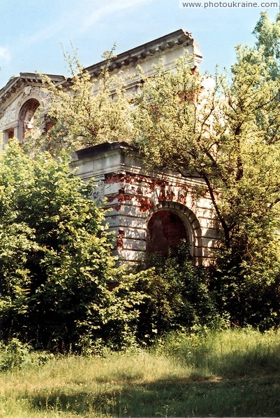 Deneshi. Ruins of house Tereshchenko Zhytomyr Region Ukraine photos