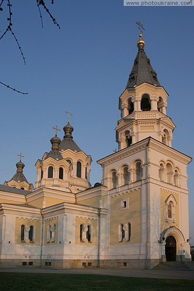 Zhytomyr. Side elevation Transfiguration Cathedral Zhytomyr Region Ukraine photos