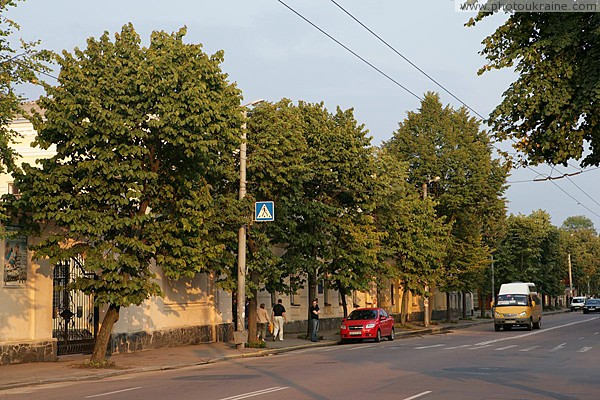 Zhytomyr. On city street Zhytomyr Region Ukraine photos