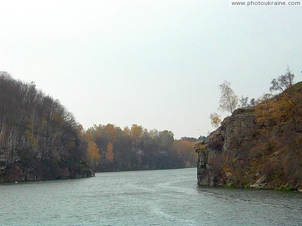 Zhytomyr. At narrowest point of Teteriv canyon Zhytomyr Region Ukraine photos