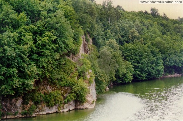 Zhytomyr. Fall over Teteriv canyon Zhytomyr Region Ukraine photos