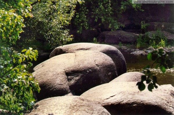Korosten. Already polished river boulder Zhytomyr Region Ukraine photos