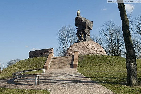 Korosten. Monument to Prince Mal Zhytomyr Region Ukraine photos