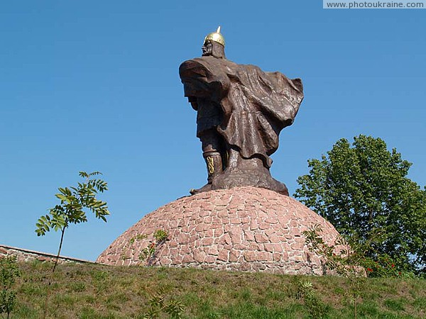 Korosten. Prince Mal at Castle Hill Zhytomyr Region Ukraine photos