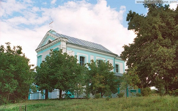 Lischyn. Trinity Church – now Orthodox Church Zhytomyr Region Ukraine photos