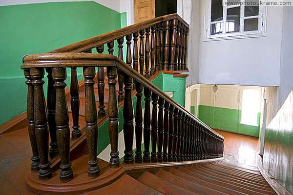 Malyn. Partially surviving staircase in college Zhytomyr Region Ukraine photos