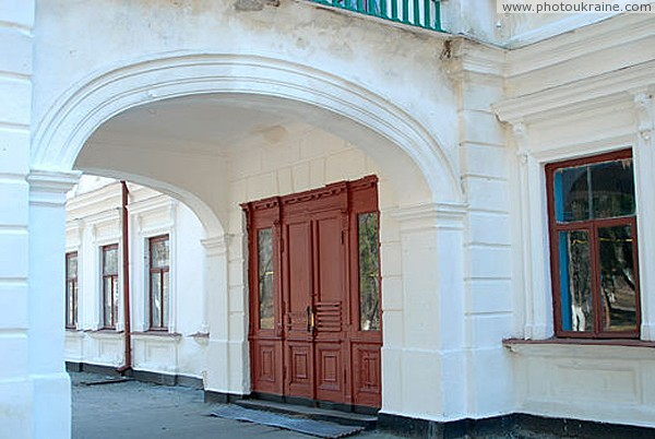 Nova Chortoryia. Main entrance of manor Zhytomyr Region Ukraine photos