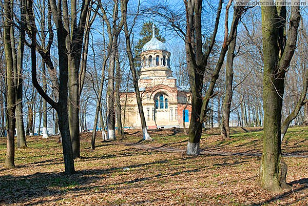 Nova Chortoryia. Church-mausoleum of Alexander Nevskyi Zhytomyr Region Ukraine photos