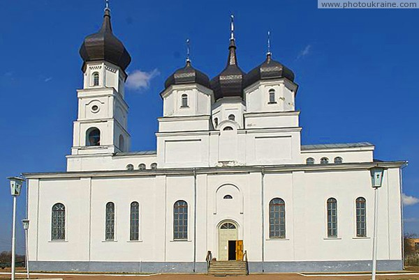 Ovruch. Southern facade of Transfiguration Cathedral Zhytomyr Region Ukraine photos