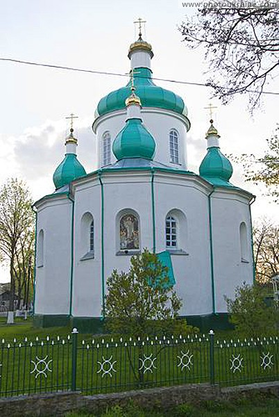 Olevsk. Rear facade of St. Nicholas Church Zhytomyr Region Ukraine photos
