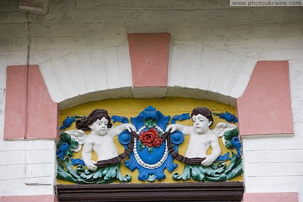 Radomyshl. Fragment decor town house Zhytomyr Region Ukraine photos
