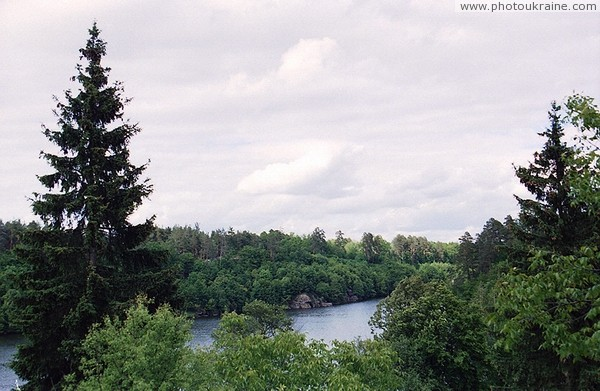Trygiria. Landscape peace of mind Zhytomyr Region Ukraine photos