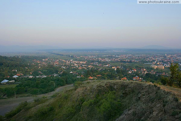 Irshava. Wide horizon of Transcarpathia Zakarpattia Region Ukraine photos