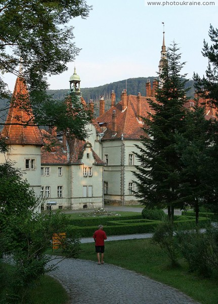 Karpaty. Count's palace and current holiday Zakarpattia Region Ukraine photos