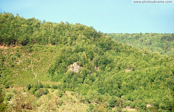 Kostylivka. Left bank of rocks Lovers Zakarpattia Region Ukraine photos